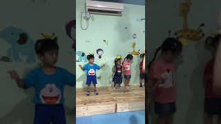 Little Conductor by 3-4 years old kids