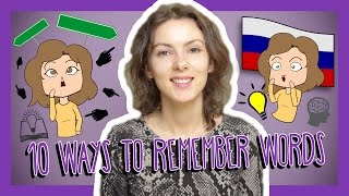 Learn the Top 10 Ways to Remember Russian Words