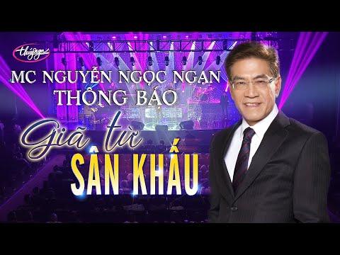Nhà Văn Nguyễn Ngọc Ngạn thông báo Giã Từ Sân Khấu