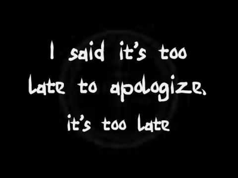Timbaland - Apologize ft. OneRepublic  (Lyrics)