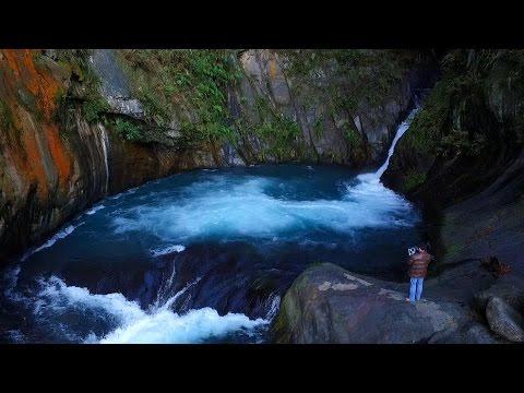【帖比倫】空拍 Aerial Photography of Taiwan 【A Beautiful Waterfall in Nantou County】