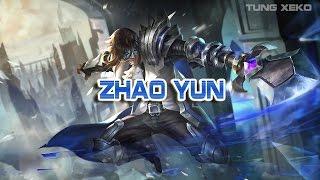 Hướng dẫn chơi Tướng Triệu Vân - Kị Sĩ Rồng - Liên Quân Mobile - Realm of Valor