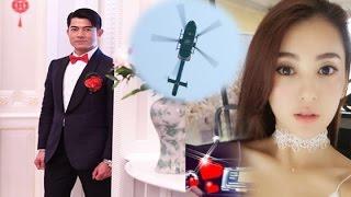 Trực tiếp Đám cưới Quách Phú Thành cùng hotgirl kém 23 tuổi đáp trực thăng tới hôn lễ