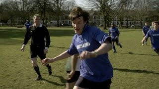 Doctor Who - The Lodger - The Doctor plays Football