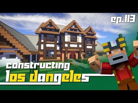 Minecraft Xbox 360: Constructing Los Dangeles - Episode 113! (Moving!)