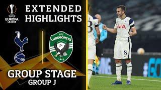 Tottenham vs. Ludogorets: Extended Highlights   UCL on CBS Sports