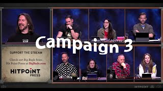 All Campaign 3 Character Hints | Critical Role & Talks Machina