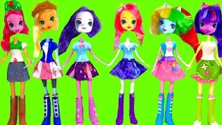 My Little Pony MLP Equestria Girls with  Toys