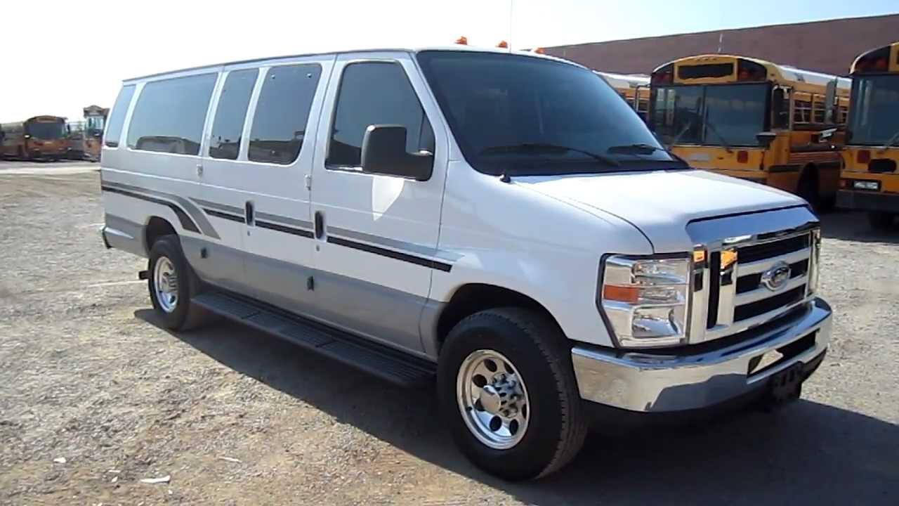 2009 ford e350 15 passenger van for sale youtube. Black Bedroom Furniture Sets. Home Design Ideas