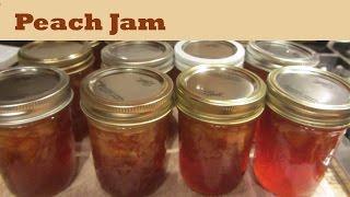 How to Make Peach Jam Fruit Jam Preserves
