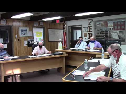 Peru Town Board Meeting  9-14-20