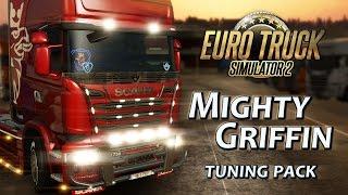 Euro Truck Simulator 2 - Mighty Griffin DLC Tuning Csomag