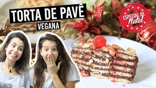 TORTA PAVÊ DE CHOCOLATE | TNM Vegg