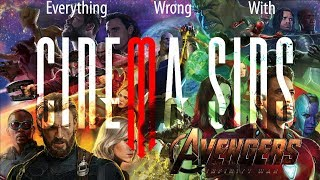 Everything Wrong With Avengers: Infinity War   Because CinemaSins Took Too Long