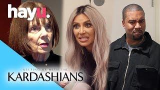 Grandma Kicked Off Kardashian Family Feud Team! | Season 15 | Keeping Up With The Kardashians