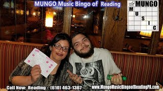 Reading Music Bingo (MUNGO) & Team Text Trivia @ Applebees, Wednesday Night