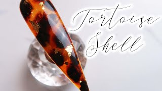Easy Tortoise Shell Nail Art Tutorial! | Gel Polish