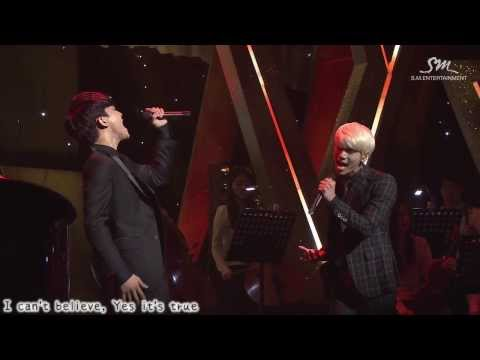 [Live 韓中字] S.M. THE BALLAD Vol 2 Joint Recital - 一天(A Day Without You) by 鐘鉉&Chen