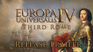 Europa Universalis IV - Third Rome Release Trailer