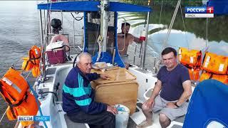Яхта «Сибирь» покинула пределы Омской области
