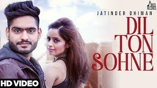 Dil Ton Sohne – Jatinder Dhiman – Mixsingh