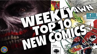 HOT TOP 10 NEW COMICS TO BUY FOR JUNE 26TH - NCBD WEEKLY PICKS FOR NEW COMIC BOOKS - MARVEL and more
