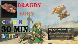 Dragon Horn Cooking/30 Min. Food Buffs BotW