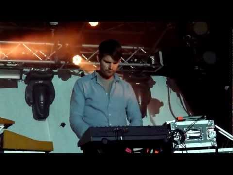 Tycho - Hours live @ Treasure Island Festival, SF - October 13, 2012