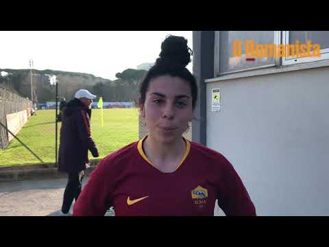 VIDEO - Roma Femminile, Cunsolo: