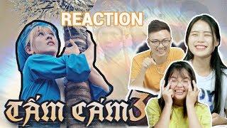 REACTION | TẤM CÁM CHUYỆN HẬU HOÀNG SẮP KỂ  phần 3 | Thử thách nhịn cười