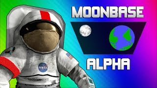 Moonbase Alpha Funny Moments - Text to Speech Singing Astronauts!