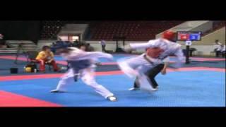 Saluto di Ibrahimovic ai Campionati Italiani di Taekwondo - Firenze