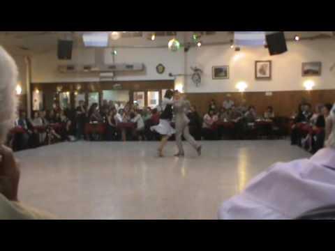 Pareja de Baile - Milonga La Baldosa - Buenos Aires