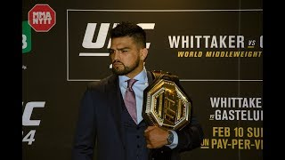 KELVIN GASTELUM: 'I'M THE CHAMP - HE PULLED OUT' | UFC 234