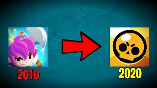 ALL SUPERCELL GAMES EVOLUTION (2010-2020)