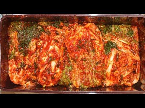 김장김치담그는법 - 절이기부터 담는과정까지 이 레시피 하나면 끝 : korean traditional kimchi recipe