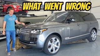 My Ridiculous 1 Year Range Rover Ownership Experience (Here's What Broke)