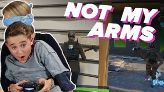 Parents & Kids Try 'Not My Arms Challenge' in