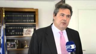 Ο Πάνος Καμμένος για τις δηλώσεις του Πρωθυπουργού 14-05-2013