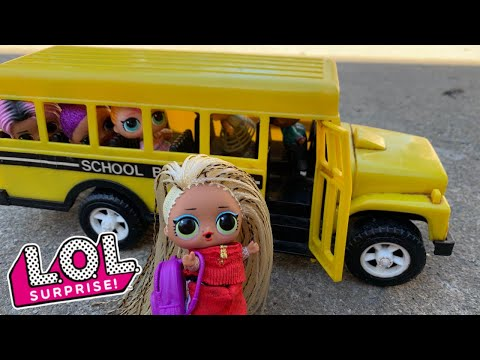 LOL Surprise Dolls Before School Morning Routine