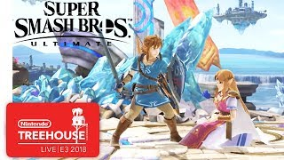 Super Smash Bros. Ultimate Character Gameplay - Nintendo Treehouse: Live | E3 2018