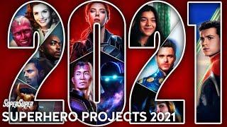 Every Superhero Movies & TV Series Coming in 2021 | SuperSuper