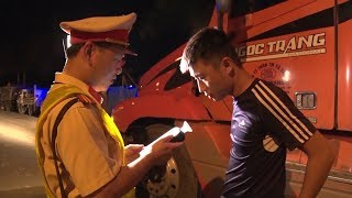 Lạng Sơn kiểm tra nồng độ cồn phòng ngừa tai nạn giao thông