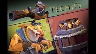 Dota 2 7.20 Techies and WTF Jugg funny moment..