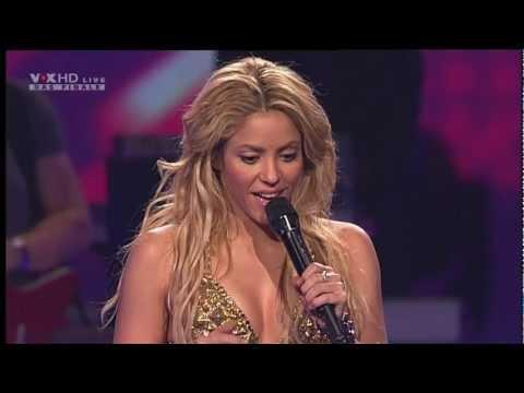 Shakira - Loca (Sexy Live Show I, X Factor Finale + Interview HD / HQ)
