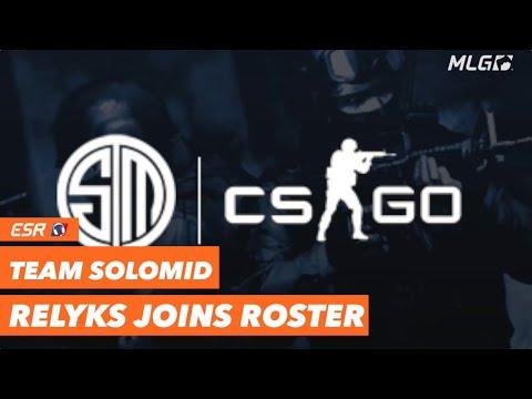 Relyks Joins TSM CS:GO
