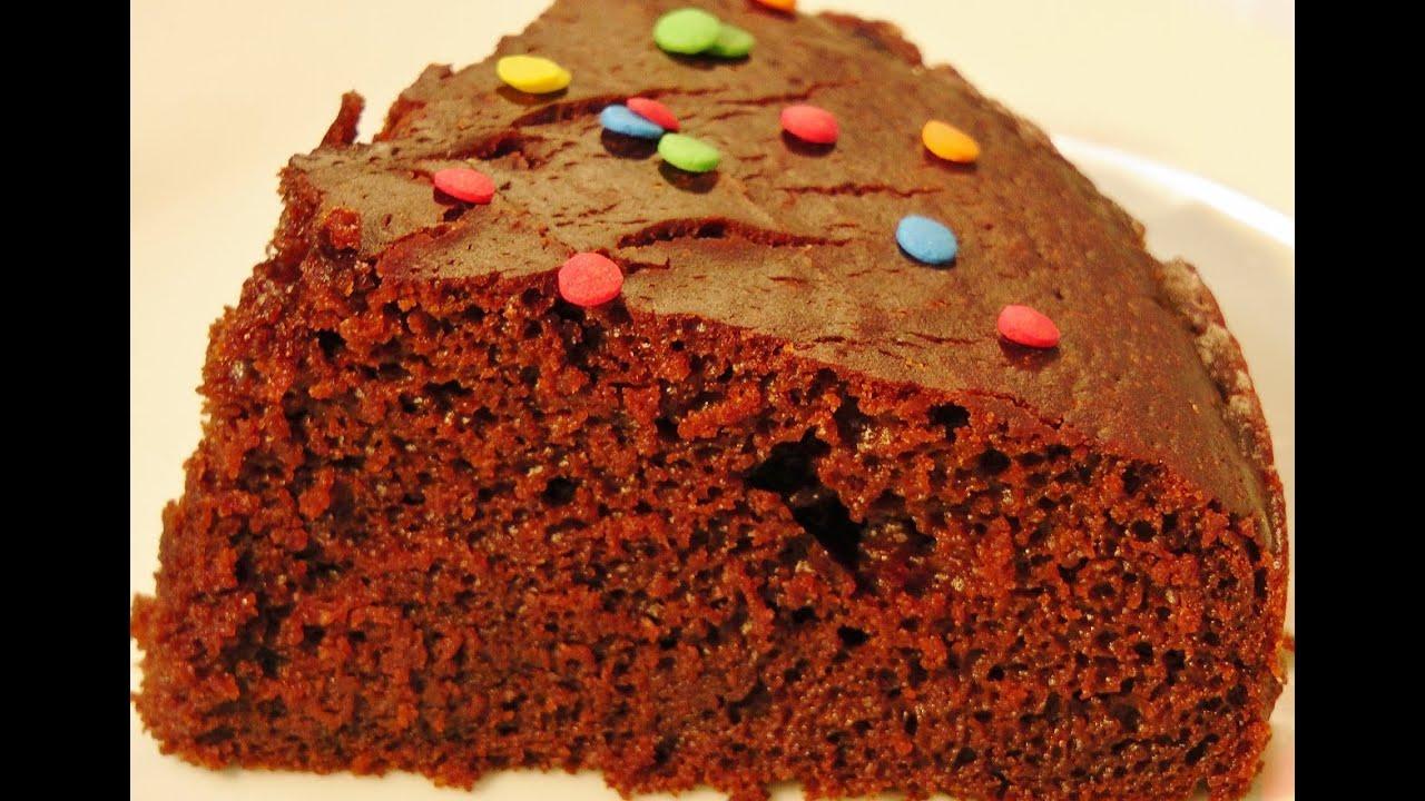 How To Make Eggless Chocolate Cake In Pressure Cooker