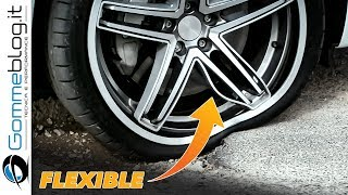 MICHELIN ACORUS Reinventing the Wheel - BENDS BUT DOES NOT BREAK