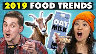 College Kids Try 2019's Biggest Food Trends | College Kids Vs. Food