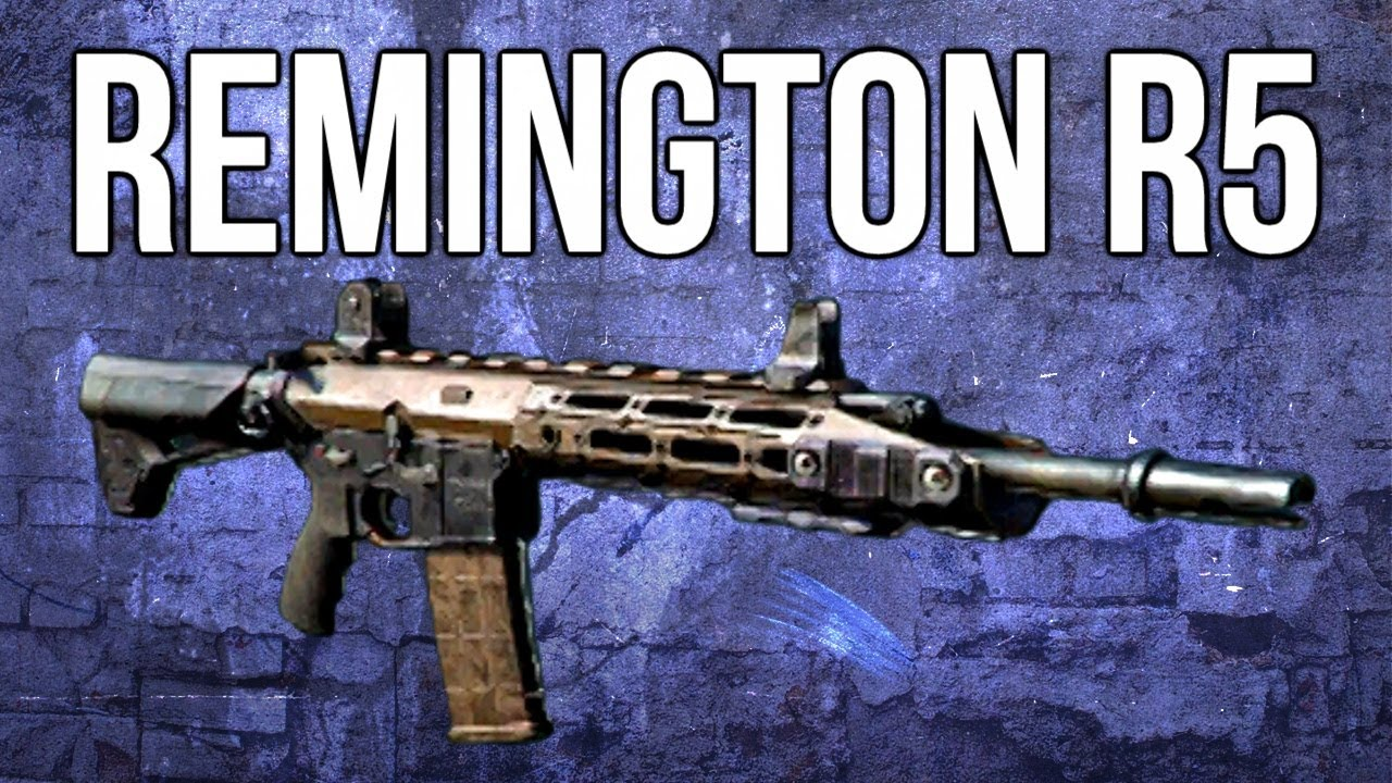 Ghosts In Depth - Remington R5 Assault Rifle Review - YouTube  Ghosts In Depth...